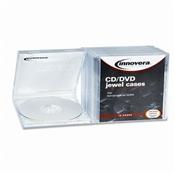 Innovera® CD/DVD Standard Jewel Cases