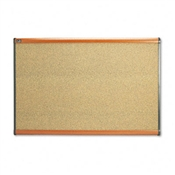 Quartet® Prestige™ Colored Cork Bulletin Board