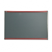 Quartet® Prestige® Gray Diamond Mesh Bulletin Board