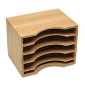 Safco® Solid Wood Stackable Sorter