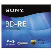 Sony® BD-RE Rewritable Discs