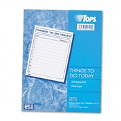 "TOPS® ""Things To Do Today"" Daily Agenda Pad"
