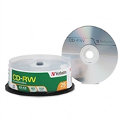 Verbatim ® CD-RW Rewritable Disc
