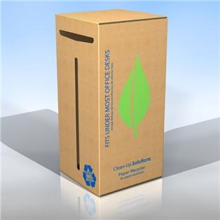 Pratt Recycled Corrugated Cardboard Box