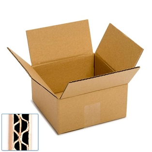 Pratt Recycled Small Double Wall Corrugated Cardboard Box