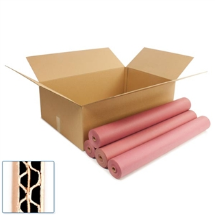 Pratt Recycled Large Double Wall Corrugated Cardboard Box