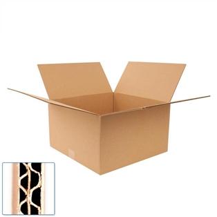 Pratt Recycled Medium Double Wall Corrugated Cardboard Box