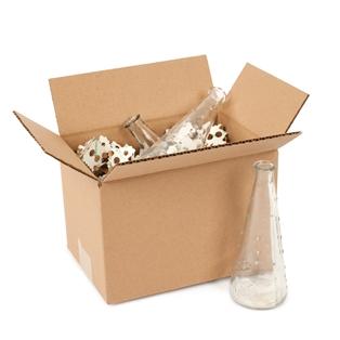 Pratt Recycled Small Corrugated Cardboard Box