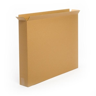 Business Industrial Kraft Side Loading Single Wall Corrugated shipping Boxes USA