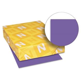 Color Paper 24lb 8 1 2 X 11 Gravity Grape 500 Sheets Pratt Plus