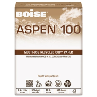 Boise® ASPEN® 100 Multi-Use Recycled Paper