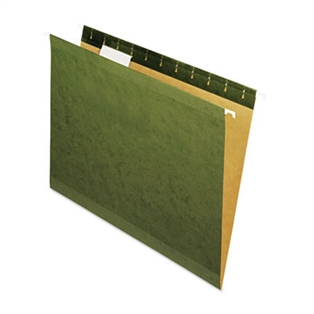 Universal® Deluxe Reinforced Recycled Hanging File Folders