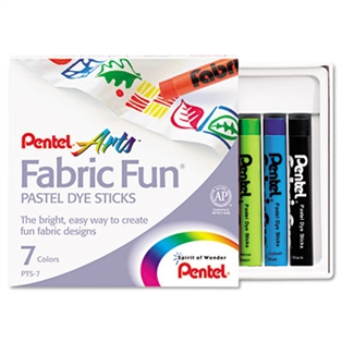 Pentel® Fabric Fun® Pastel Dye Sticks