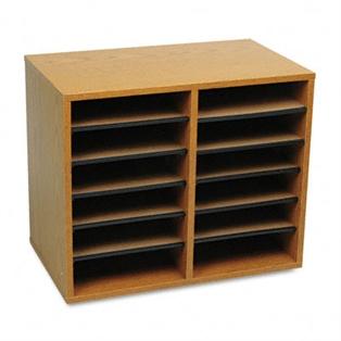 Safco® Wood Adjustable Organizer