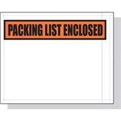 Pratt Packing List Envelopes