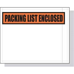 """Invoice Enclosed Packing List 2000 4.5/"""" x 5.5/"""" Packing List Enclosed Front"""