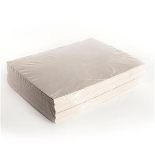 Pack of 2400 White BOX USA BNP1530 Newsprint Sheets 15 x 20
